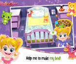 Baby Arya Sleep Time Game