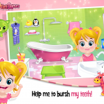 Baby Arya Teeth Care Game