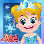 Baby Arya Frozen Dress Up