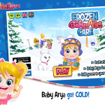 Baby Arya Frozen Care Game Play Now!