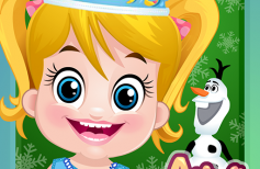 Baby Arya Frozen Care Game