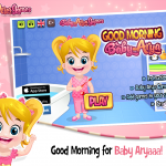 Baby Arya Good Morning Game (3)